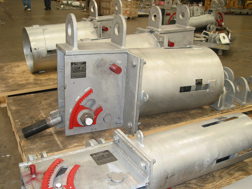 Constant Hanger Supports for a Power Recovery Plant