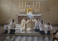 Incensing the Eucharistic Lord