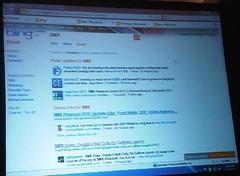 Bing social vertical demo