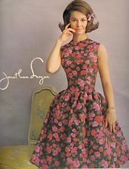 Jonathan Logan (sugarpie honeybunch) Tags: fashion magazine advertising 60s dress ad bow 1960s seventeen jonathanlogan