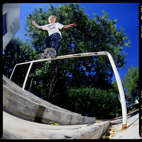 Caleb Schrank Backside Smith Grind Scottsdale Rescan
