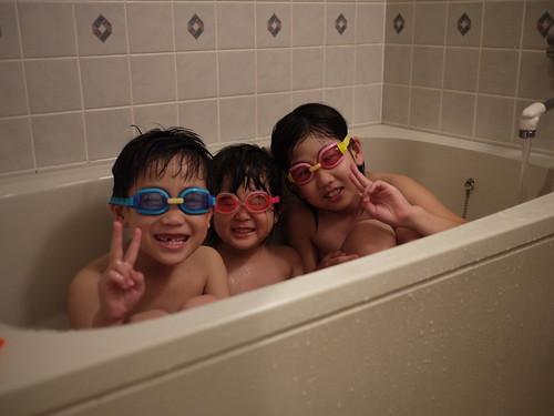 水中眼鏡3きょうだい