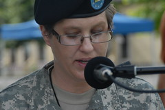Change of Command Ceremony - United States Army Africa - 10 June 2010.