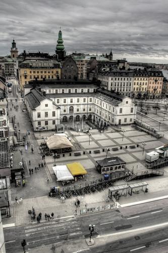 View of Södermalm. Stockholm. Vista de Södermalm. Estocolmo