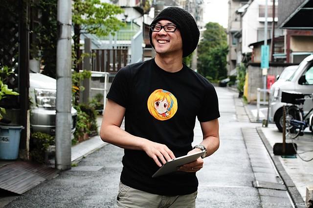 camiseta t-shirt Firefox estilo manga