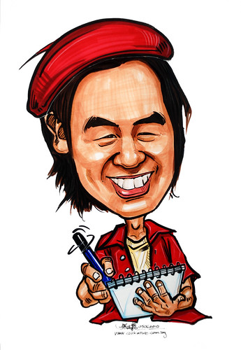 Caricatures for NUS -drawing