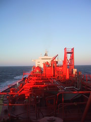 Bow Viking at Sea (Gunnar the Grey) Tags: ocean sea bow viking tanker odfjell