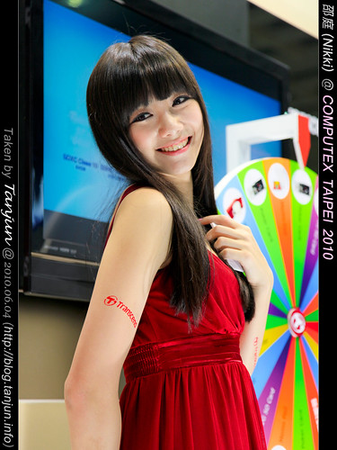 邵庭(Nikki) @ COMPUTEX TAIPEI 2010
