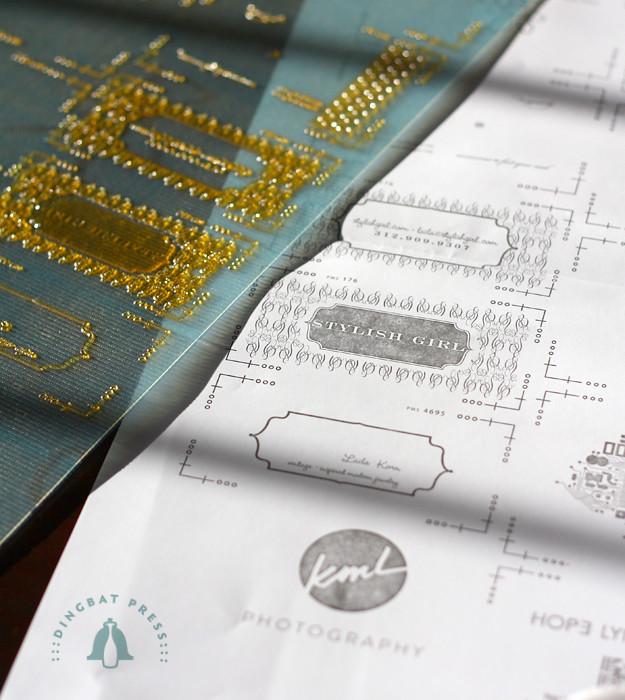 Letterpress Plates & Proofs