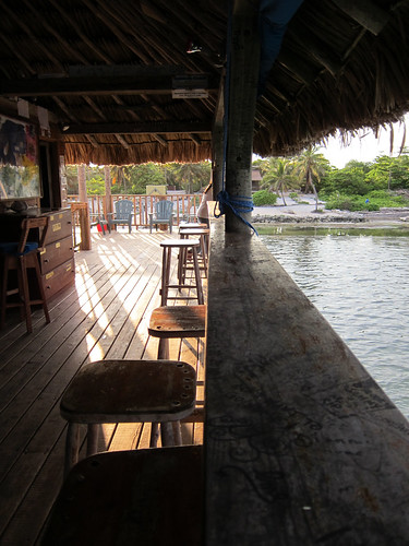 At the Palapa Bar