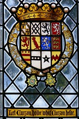 Armorial stained glass willement twycross