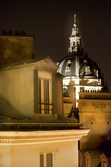 paris at night III (bytegirl24) Tags: roof paris france night buildings europe rooftops