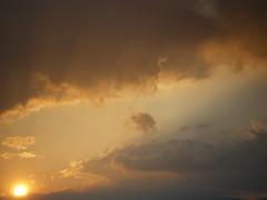 Radiance and Reflection #71 (tt64jp) Tags: light sunset sky orange cloud sun sol nature japan grey evening soleil solar ray shine bright radiance gray     shining   brilliant brightness radiant brilliance gunma afterglow settingsun    kiryu