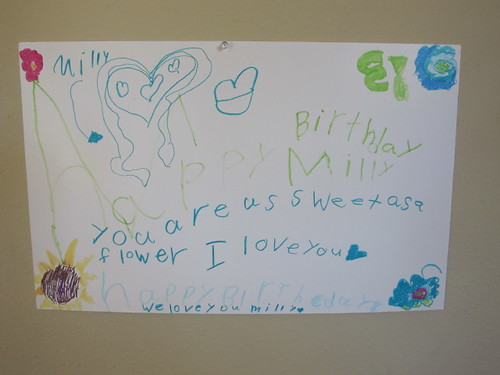 Lil' Mermaid's birthday poster for Peelu