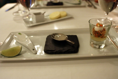 Trio of Amuse Bouche