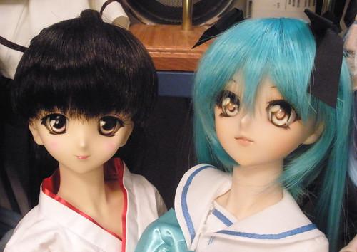 Sayaka and Saki