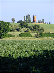 Dovecote on the Hill (jo92photos) Tags: trees rural countryside farm horizon historic fields crops countrylife dovecote sulham nunehidefarm wildlifecountryside