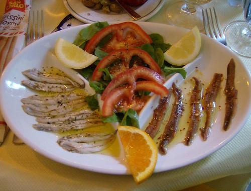 Gastronomía en Cinque Terre