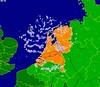 """buienradar"" today (Michiel Thomas) Tags: world blue orange holland green cup june japan football fifa soccer nederland 19 forecast voetbal oranje 2010 precipitation weatherforecast tegen buienradar hollandjapan rainforecast rainshowerforecast showerforecast japanholland 06192010"