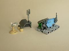 Exploration Rover (Pierre E Fieschi) Tags: lego pierre rover micro exploration microspace fieschi microscale microspacetopia