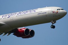 G-VRED - 768 - Virgin Atlantic Airways - Airbus A340-642 - 100617 - Heathrow - Steven Gray - IMG_5055