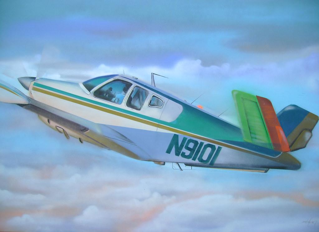 canvas avião