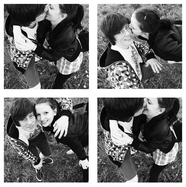 Collage of Kisses by Katti Klick Klack
