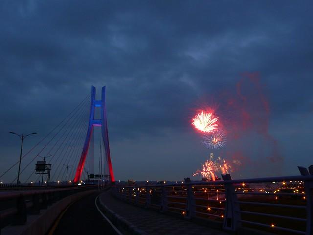新北大橋煙火