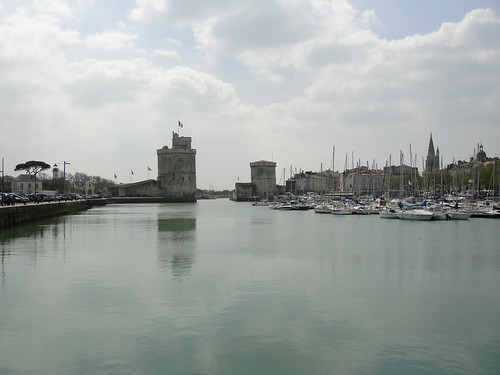 La Rochelle kikötője