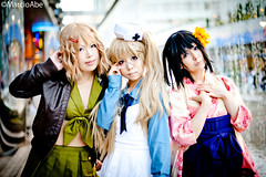 Cosplay  -  New Layers Paradise (Abe Massayuki) Tags: game anime tokyo comic cosplay character manga convention  cosplayer      abechan costumeplayer  marcioabe marciomabe