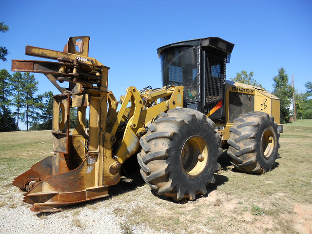 2004 HydroAx 470 Fellerbuncher with 20quot HiCap Sawhead for Sale at Forestry First by Jesse Sewell