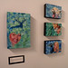 """Baso Fibonacci ""Panda"" Limited Edition 6 Color Screen Print"" by Flatcolor Gallery"
