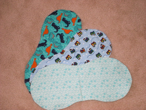 baby boy burp rags #2