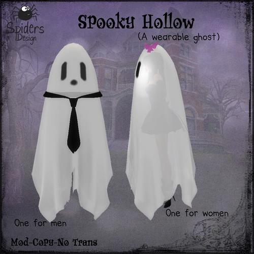 Spooky Hollow - Wearable Ghost