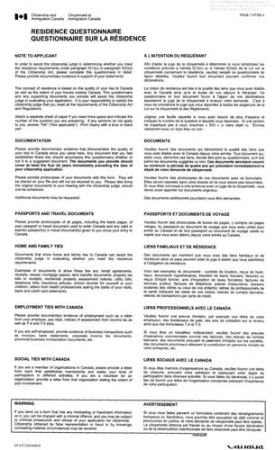 RQ (CIT0171B) - Canada Immigration and Visa Discussion Forum