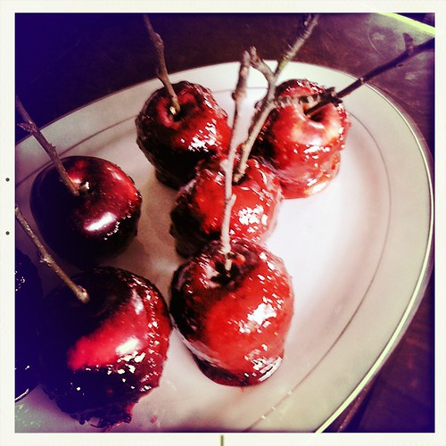 cinnamon candy apples