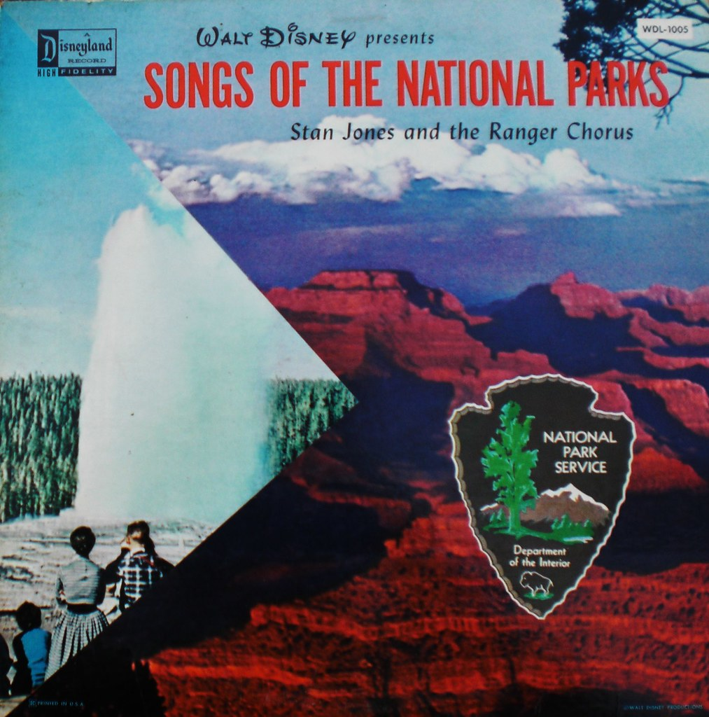 SONGS OF THE NATIONAL PARKS front cover