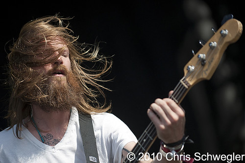 Minus The Bear - 10-31-10 - Voodoo Festival, City Park, New Orleans, LA