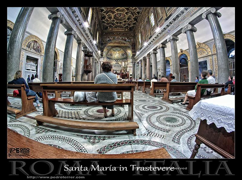 Roma - Santa María in Trastevere