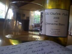 2008 La Clarine Farms Grenache Blanc