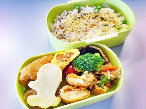 今日のお弁当 No.49 – 五穀米のふりかけ