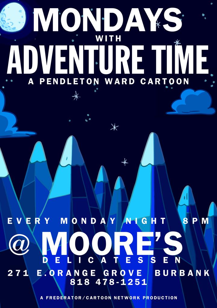 Monday's @ Moore's