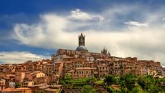 Siena (López Pablo) Tags: siena italy tuscany nikon d90 duomo cloud urban sky
