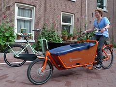 Geez how annoying! (@WorkCycles) Tags: bakfiets kr8 workcycles cargobike bike bicycle amsterdam jordaan boxbike