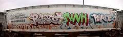 (I L L B I L L) Tags: art graffiti box trains rink carts freight benching