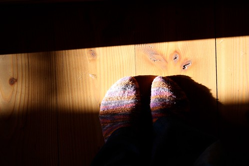 some sun and wool socks