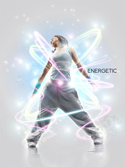Energetic (robertoblake) Tags: photomanipulation photoshop design graphicdesign photomanip digitalarts digitalartwork tyography graphicartist photomanips digitalartist