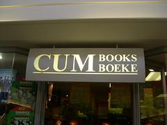 Cum Books: sign in Paarl Mall, South Africa (John Steedman) Tags: cum sign southafrica cape südafrika westerncape paarl 南非 suidafrika ケープタウン 南アフリカ共和国 開普敦 cumbooks paarlmall
