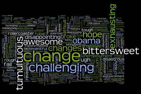 words summarizing 2009