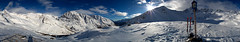 360 Panorama Latzaun Schnalstal - Val di Senales (FC Blau Weiss Neckargemnd) Tags: schnee winter panorama mountain snow ski alps berg glacier valley alpen gletscher alto sdtirol 360 altoadige facebook adige schnalstal karthaus senales kurzras vernagt pentaxk10d samsunggx10 valdisenales unserfrau